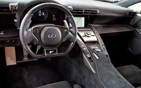 lexus lfa black interior. evan mccausland lexus lfa black interior l