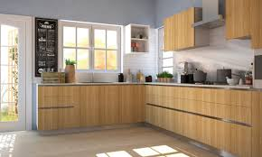 Kitchen:Fascinating L Shaped Kitchen Design With White Glass Window And  Cram Flooring Ideas Fascinating