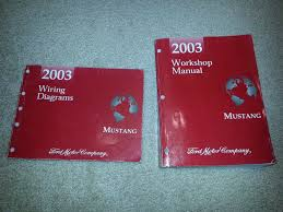 2003 mustang service and wiring diagram manuals svtperformance com