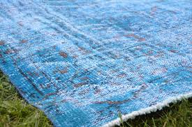 7 x 10 7 sky blue rug large turkish rug free blue area rug