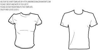 Vector T Shirt Template Free Vector In Adobe Illustrator Ai Ai