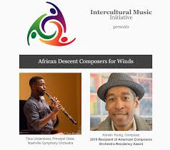 Black Composers for Winds   New Music USA