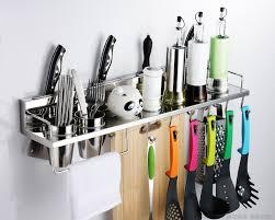304 stainless steel kitchen rack shelf cooking utensil in utensils racks ideas 7