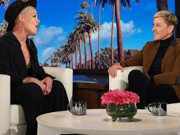 Pink Album P Nk Previews New Single And Album On Ellen Reveals She Hates
