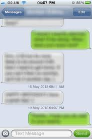 Ordinary sms text messages are sent using your cellular voice service, and don't use the internet or your data plan. Why Aren T Iphone Text Messages At Full Width User Experience Stack Exchange