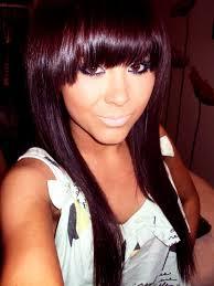 Dark Brown Violet Hair Color Think