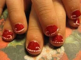 13 Christmas Pedicure Designs Images - Christmas Nail Design ...
