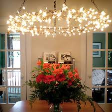 Dining room lighting ideas ceiling rope Pendant Light Fairy Rope Hanging Led Lights Magical Chandelier Pinterest Fairy Rope Hanging Led Lights Magical Chandelier Diy Lampshade