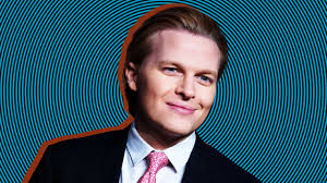 Ronan Farrow Does Goofy Voices In Serious Metoo Audiobook
