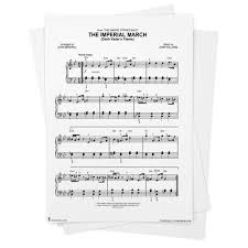 Many species of alien creatures (often humanoid) are depicted. The Imperial March Sheet Music From Star Wars Easy Piano From Musicnotes Star Wars John Williams Amazon Com Books