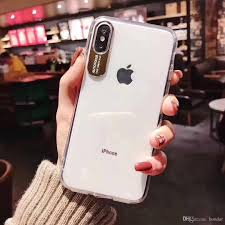 7 Plus Case Designer 2019 For Iphone 7 Plus Case Metal Camera Frame Eye Protection Designer Phone Case Acrylic Transparent For Iphone Xs Max Case Cell Phone Covers Phone