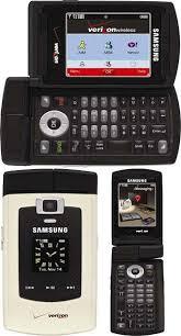 samsung flip phone verizon 2006. samsung sch-u740 double-flip flip phone verizon 2006