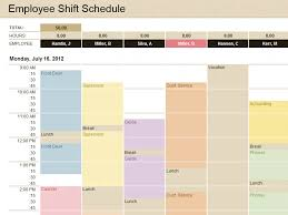 Schedule Template Microsoft Excel Printable Schedule Template