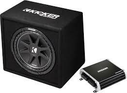 kicker dxa250 1 250w class d mono amplifier comp 12 subwoofer kicker dxa250 1 250w class d mono amplifier comp 12 subwoofer and enclosure black dxvc25012 best buy