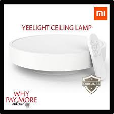 xiaomi yeelight smart ceiling light lamp remote app mi wifi bluetooth