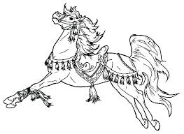 Horse Coloring Page Horse Coloring Sheets Cute Pages Horses Of Horse