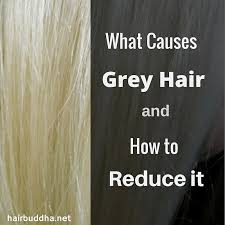 what causes grey hair 5 ways to reduce