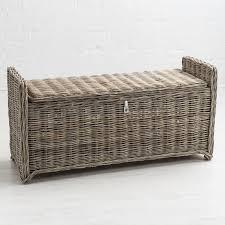rattan storage bench. Contemporary Storage Key Largo Kubu Rattan Storage Bench To R