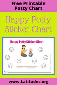 potty training sticker chart happy mom acn latitudes happy potty sticker behavior chart