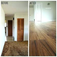 laminate floor over carpet perfect laminate flooring over carpet