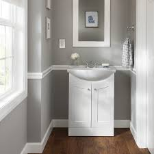 where to shop for bathroom vanities. Shop Style Selections Euro White Belly Bowl Single Sink Bathroom Vanity With Vitreous China Top Where To For Vanities