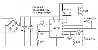 building a variable power supply limiting current control