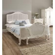 Wicker Bedroom Furniture for Natural Sense AllstateLogHomes