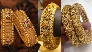 Latest South Indian Bangles Design South Indian Ruby Emarald Gold Bangle Designs