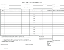 Excel Travel Expense Report Template Employee Travel Expense Report Template