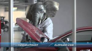 to make sure elephant auto insurance customers get the best service hank is going undercover his assignment elephant s guaranteed repair center