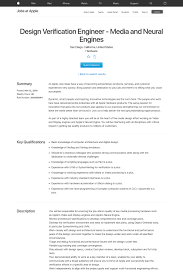 Job Engines Media And Neural Engines Job At Apple In San Diego Ca