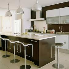 kitchens with dark brown cabinets. Dark Brown Laminated Wooden Kitchen Cabinet Mixed White Flooring Together With Kitchens Cabinets