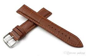 durable brown men women cowhide watch strap 18mm 20mm 22mm high quality waterproof leather watch band spot supply fast delivery oem watch band