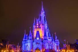 cinderella s castle at night 1 disney