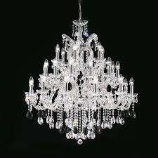 luxury italian black swarovski crystal chandelier