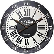 infinity instruments london wall clock
