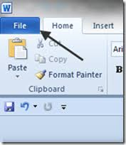 Word Ribbon How To Customize The Ribbon In Ms Word 2010