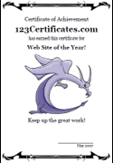 template of a dragon free printable dragon certificates and awards templates
