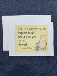 Life Is A Journey Classic Winnie The Pooh Meaning Of Life Quote