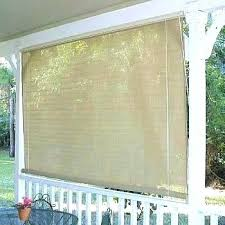 outdoor roll up curtains patio shade window southern sunset ministry interior screens cl
