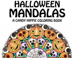 Small Picture Halloween coloring Etsy