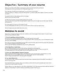 Resume Overview Statement Joefitnessstore Com