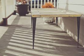 Modern Table Legs Tapered
