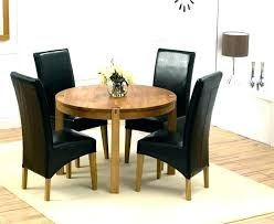 round table dining set small round dining set round table dining set for 4 black round