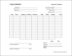 Payroll Time Sheets Free Free Bi Weekly Timesheet Landscape From Formville Time