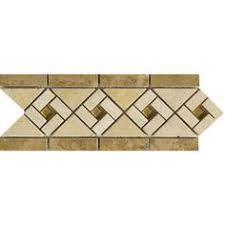 Listellos And Decorative Tile Emser Tile Fontane Caldera Tumbled Listello 60X60 Products 12