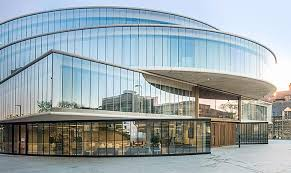 Spectacular Architecture Bank Ideas That You Must Know: Glass Facades Of  Modern Bank Exterior Architecture