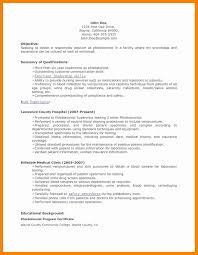 Resumes For Phlebotomist Phlebotomist Resume Objective Cv