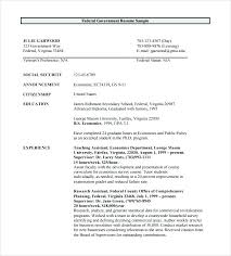 Federal Resume Templates Best of Government Resume Template Federal Resume Templates Government Free