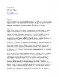 Underwriter Resume Free Resume Example And Writing Download